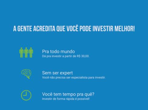A gente acredita que você pode investir melhor e encontrar os melhores investimentos