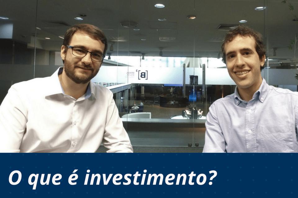 O que é investimento para você?
