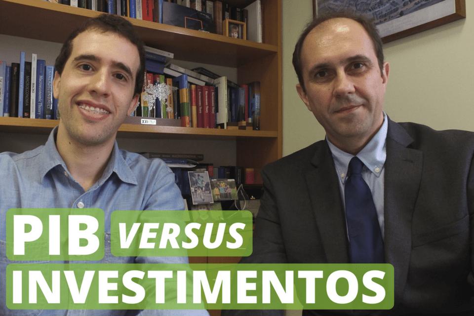 PIB versus investimentos