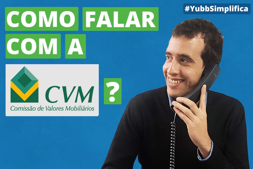 qual é o contato da CVM?