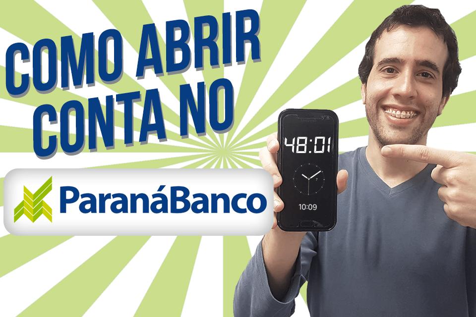 Como abrir conta no Paraná Banco Investimentos