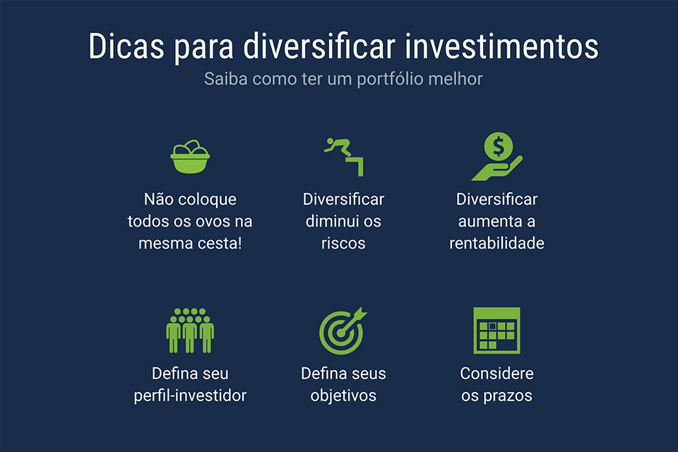 dicas para diversificar investimentos