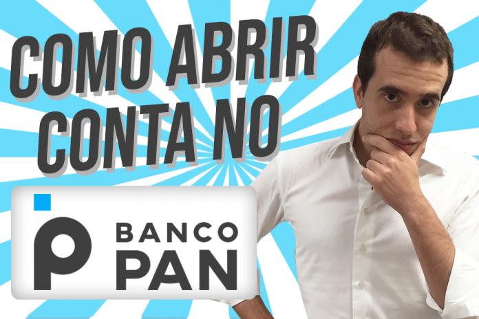 como abrir conta no PAN